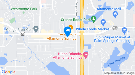 Days Inn & Suites by Wyndham Altamonte Springs Map