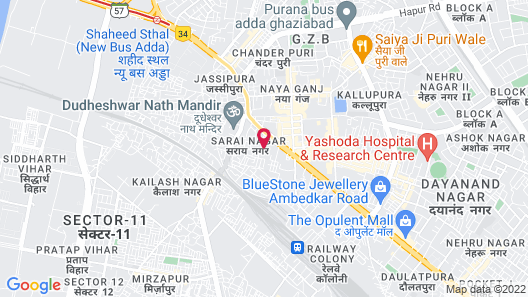 Country Inn & Suites by Radisson, Sahibabad, Distt Ghaziabad (U.P.) Map