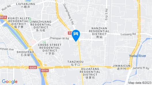 Holiday Inn Express Nanchang Bayi Square, an IHG Hotel Map