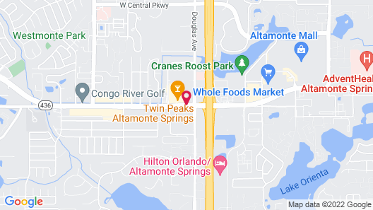Springhill Suites By Marriott Orlando Altamonte Springs Map