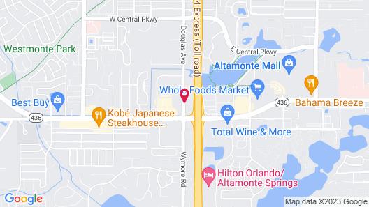 Hampton Inn & Suites Altamonte Springs Map