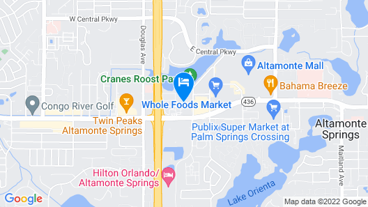Embassy Suites by Hilton Orlando-North Map