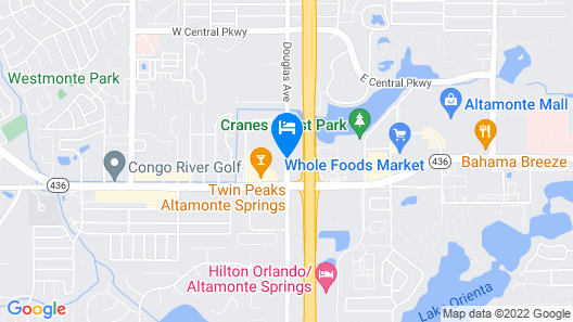 Ramada by Wyndham Altamonte Springs Map