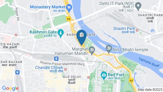 Ashu Villa Guest House Map