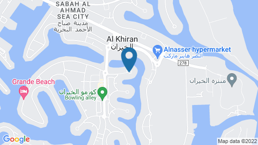 Faris villas Map