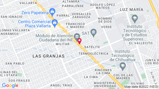 Casa Grande Chihuahua Map