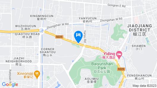 Magnotel(Jiaojiang yunxi road, yan yu park) Map