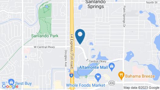 Hawthorn Suites by Wyndham Orlando Altamonte Springs Map