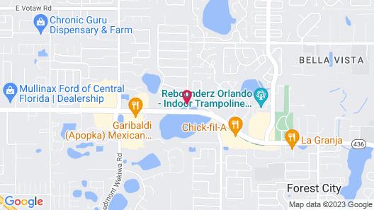 Holiday Inn Express Hotel & Suites Orlando - Apopka, an IHG Hotel Map