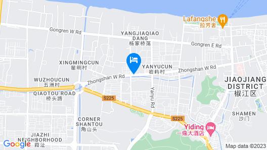 Motel 168 Zhongshan West Road - Taizhou Map