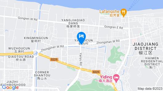 Best Boutique Hotel - Taizhou Map