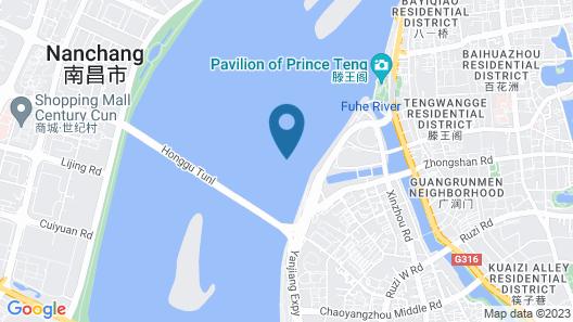 Crowne Plaza Nanchang Riverside, an IHG Hotel Map