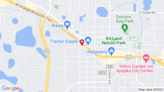 Days Inn by Wyndham Apopka/Orlando Map