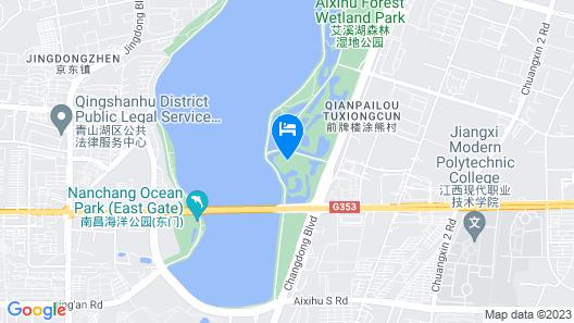 HUALUXE Nanchang Hightech Zone - An IHG Hotel Map