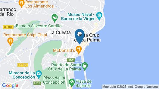 Hotel San Telmo Map