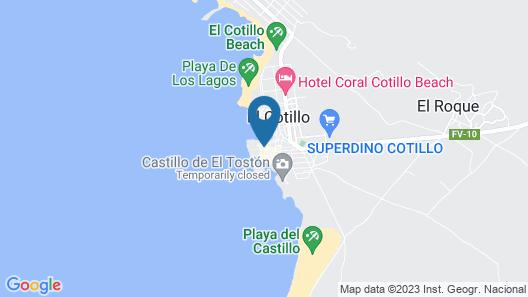 Cotillo Ocean View Map
