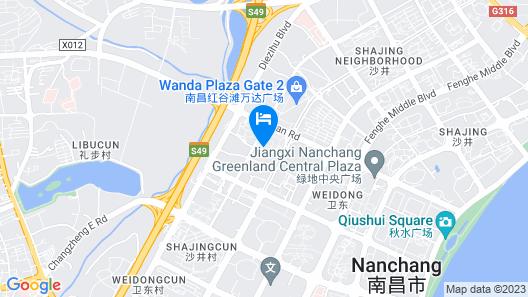Hilton Garden Inn Nanchang Honggutan Map