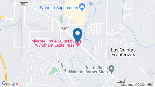 Microtel Inn and Suites Eagle Pass Map