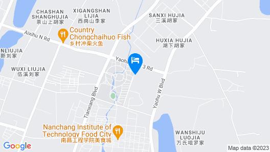 Wyndham Garden Nanchang Honggutan Map