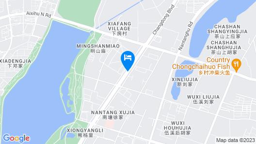 Jinling Grand Hotel Nanchang Map