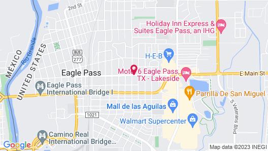 Maverick Inn Map