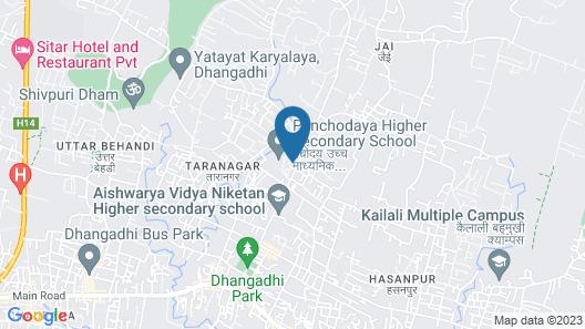 Hotel Devotee Map