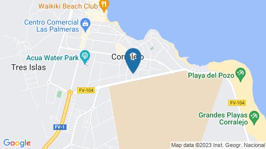 Arena Beach Map