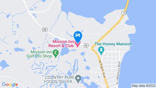 Mission Inn Resort & Club Map