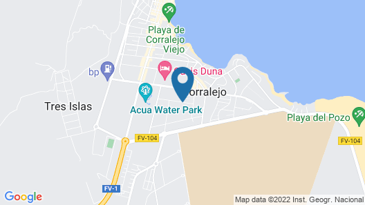 Surf Riders Fuerteventura - Adults Only Map