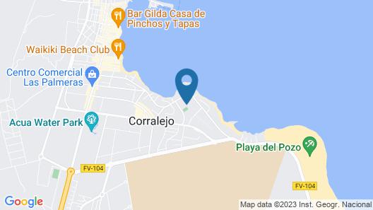 Alua Suites Fuerteventura Map