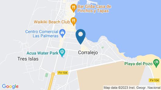 Atlantic Garden Beach Mate Map