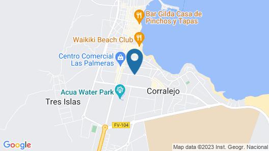 Alisios Playa Map