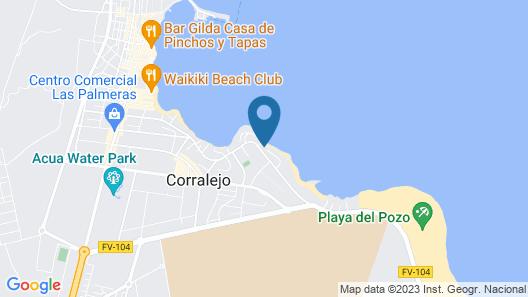 Punta Elena Beach Map