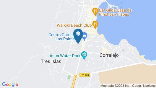 LABRANDA Hotel Bahía de Lobos Map
