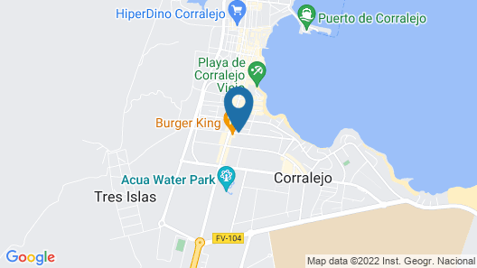 LABRANDA Corralejo Village - All Inclusive Map