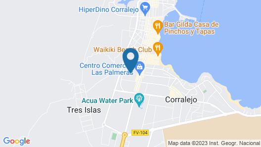 H10 Ocean Suites Map