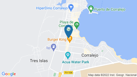 Barceló Corralejo Sands Map