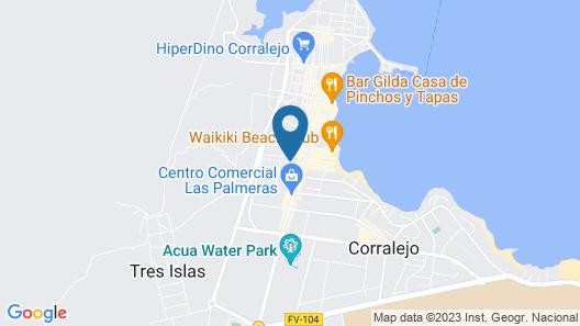 Apartamentos Fuentepark Map