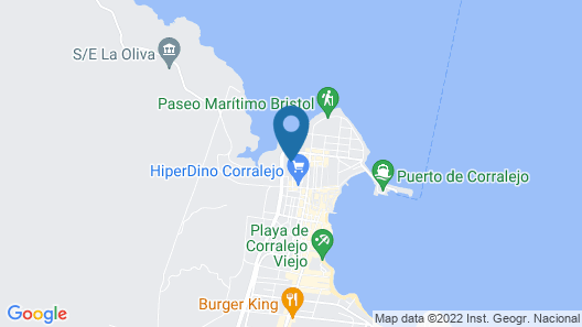 Corralejo Surfing Colors Hotel&Apartments Map