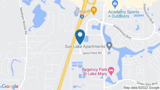 Candlewood Suites Lake Mary, an IHG Hotel Map