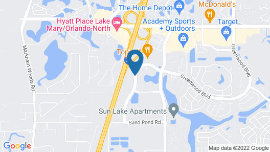 La Quinta Inn & Suites by Wyndham Orlando Lake Mary Map