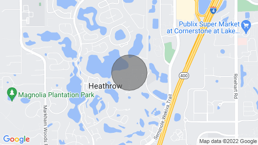 Relaxing stays in Lake Mary/Orlando Map