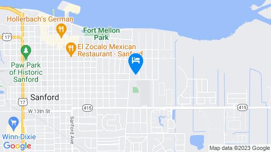 Elliott House Map