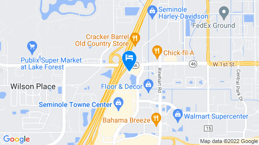 Springhill Suites by Marriott Orlando North/Sanford Map