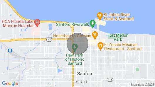 Florida Farmhouse- Sanford Historic District Map