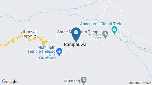 Annapurna Inn Map