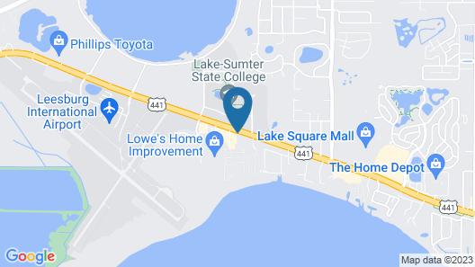 Microtel Inn & Suites by Wyndham Leesburg/Mt Dora Map