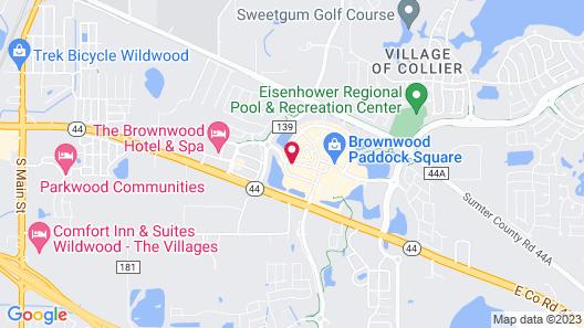Brownwood Hotel & Spa Map