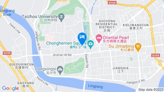 Haijin Business Hotel Map