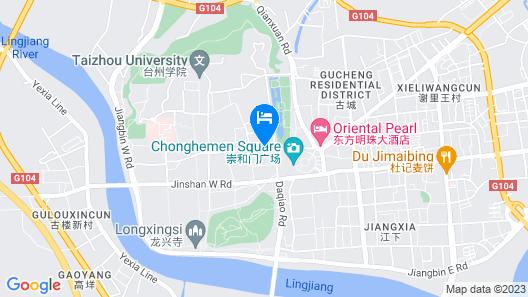 Huaqiao Hotel Map